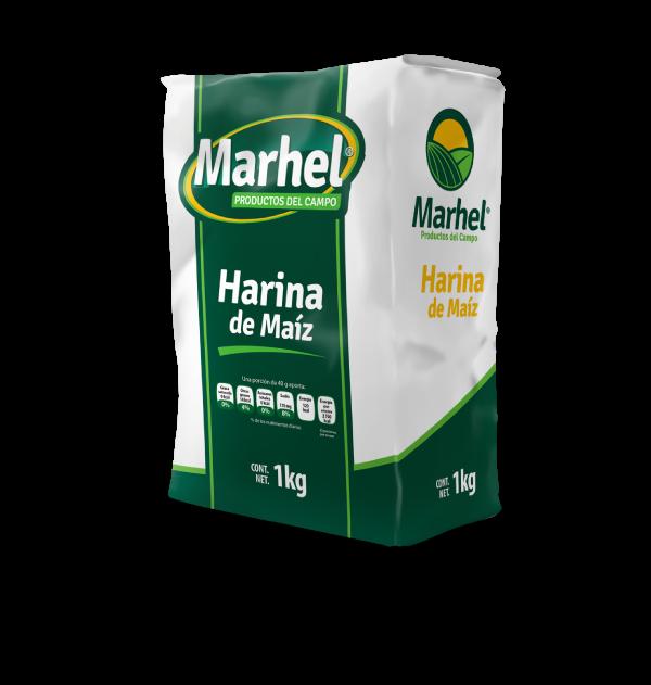 Harina de maiz Marhel