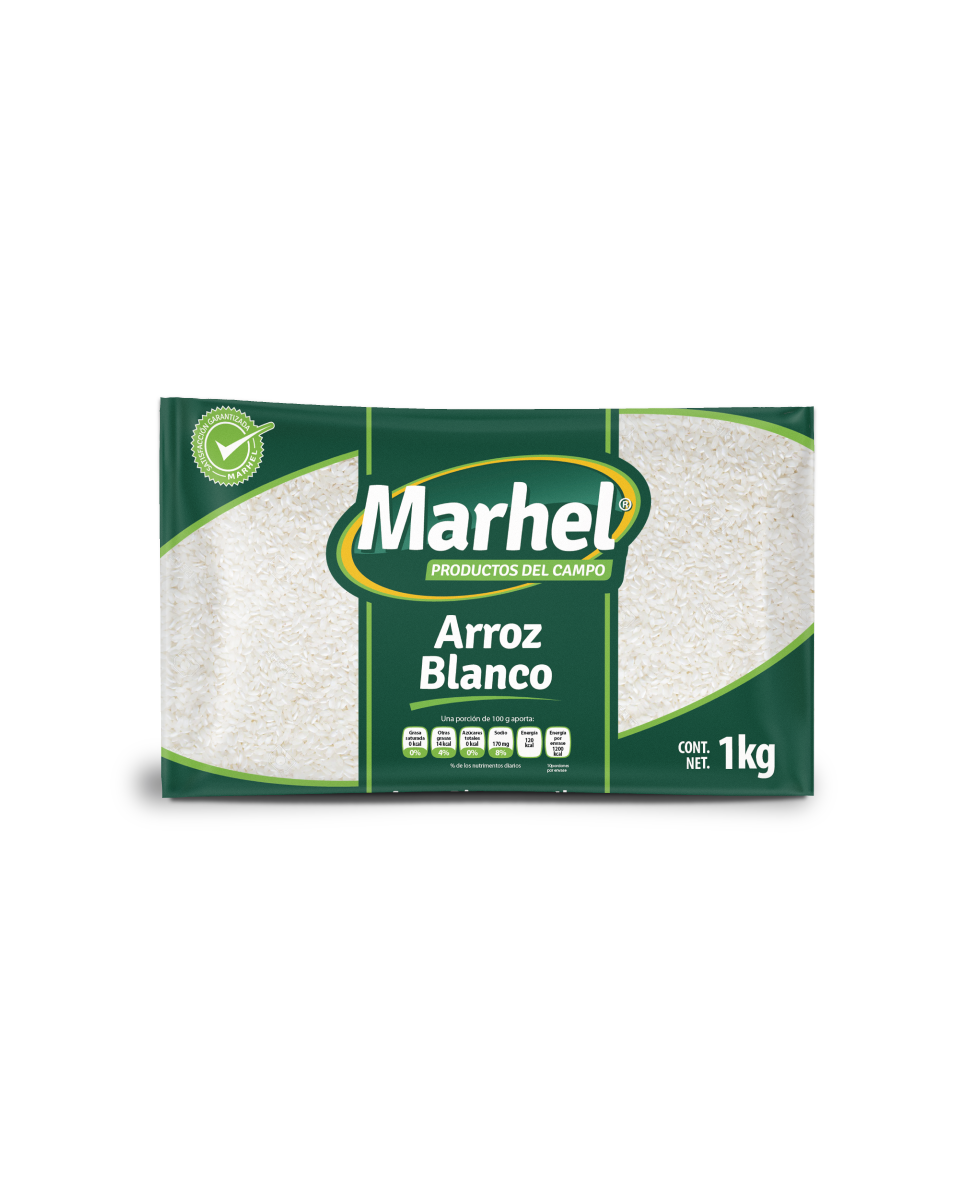 Arroz blanco Marhel