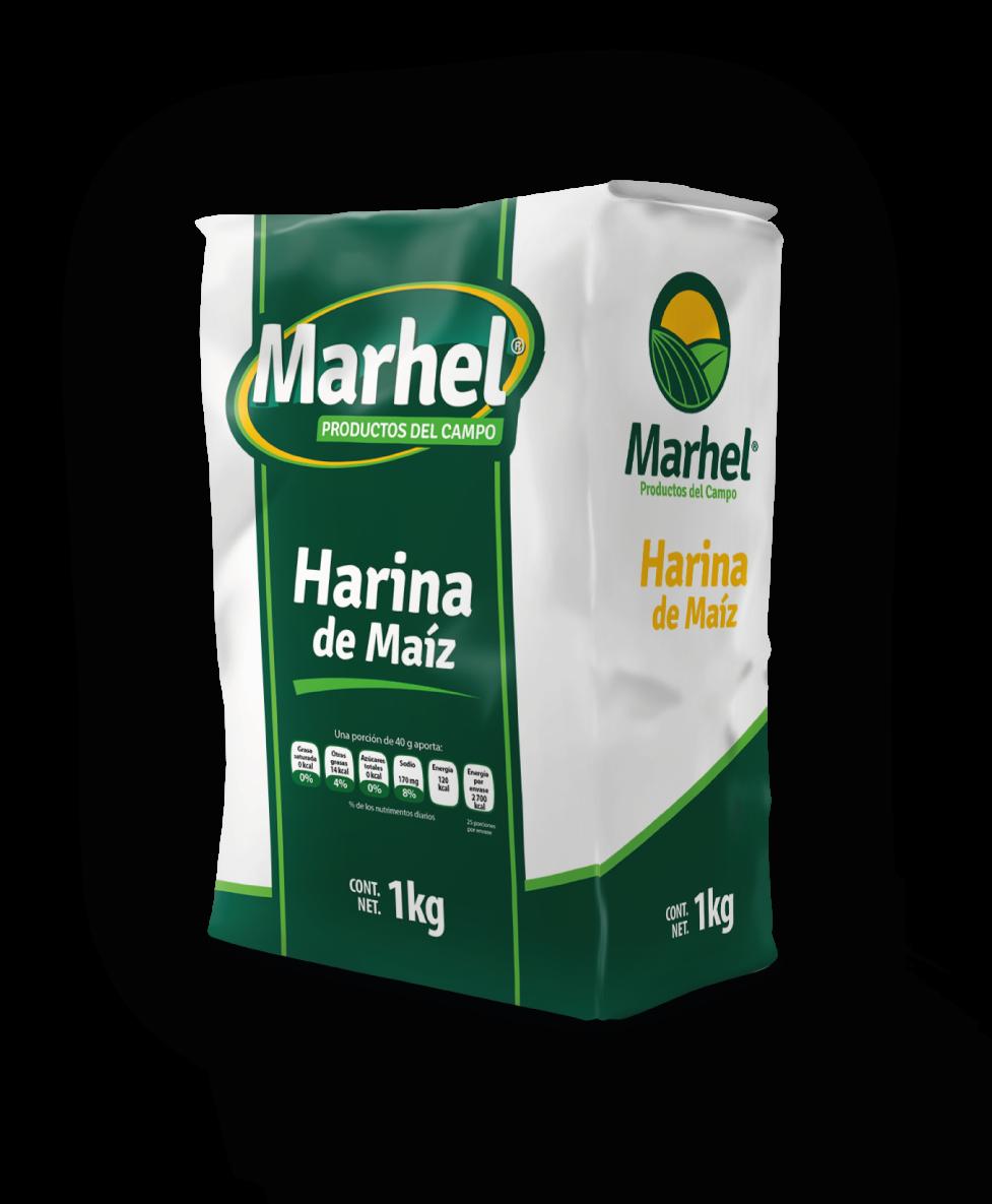 Harina de Maíz Marhel